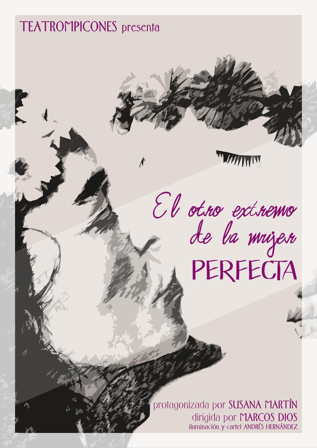 Cartel El otro extremo de la mujer perfecta
